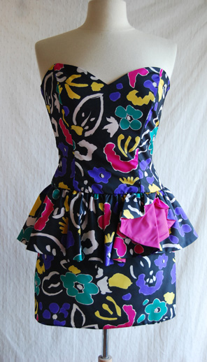 Made By Meg 80s Prom Dress