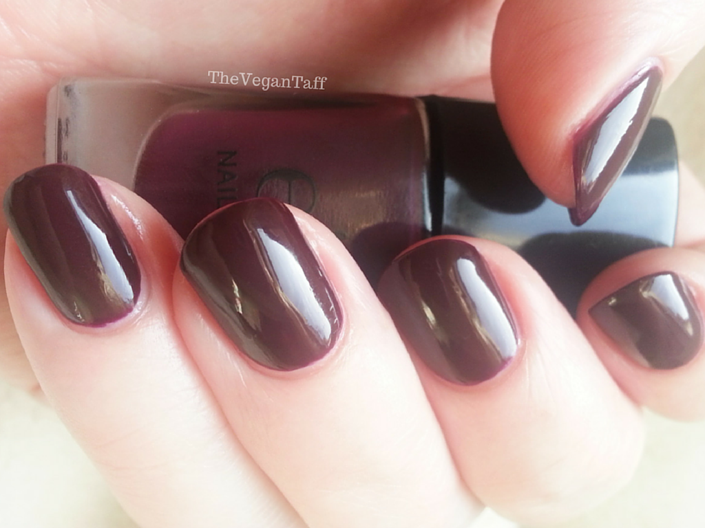 elf plum nail polish