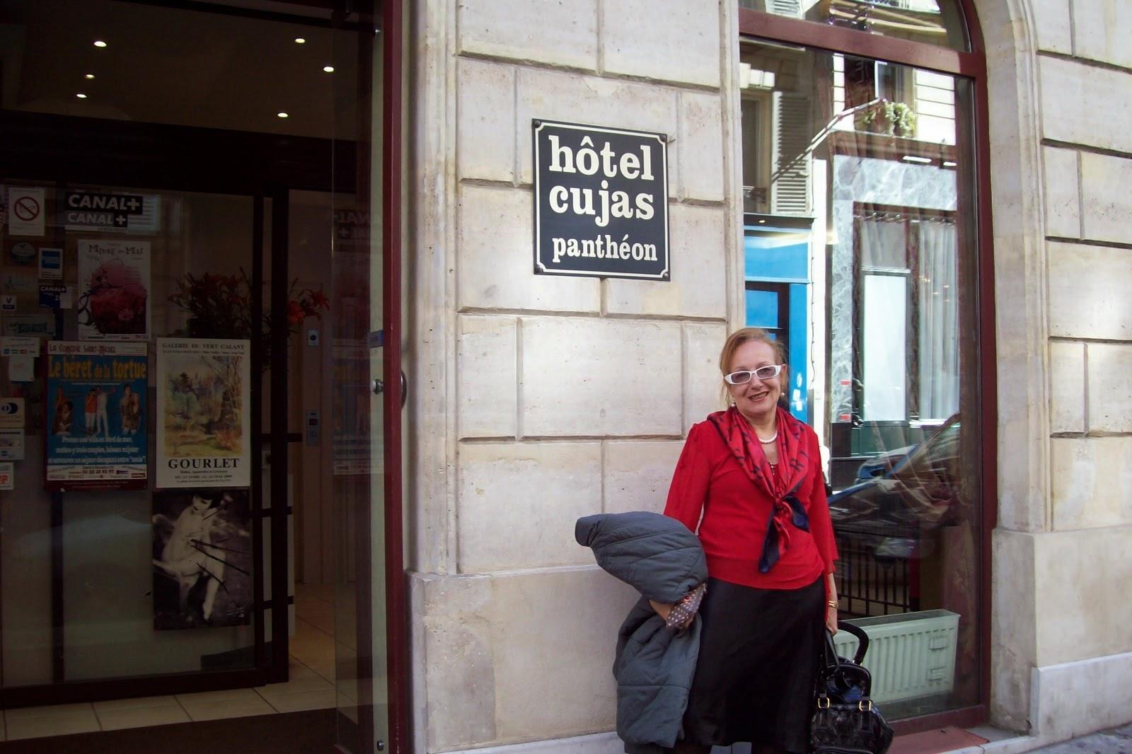hotel Cujas, Paris, 2009 e 2011