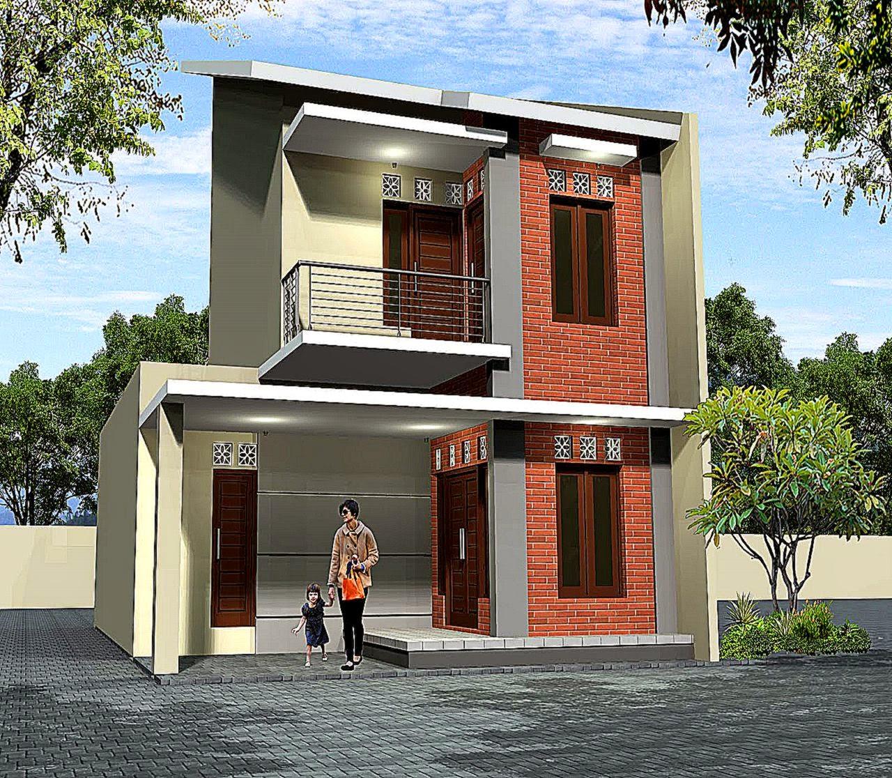 Desain Rumah Minimalis 2 Lantai Type 36   Rumah minimalis 2015