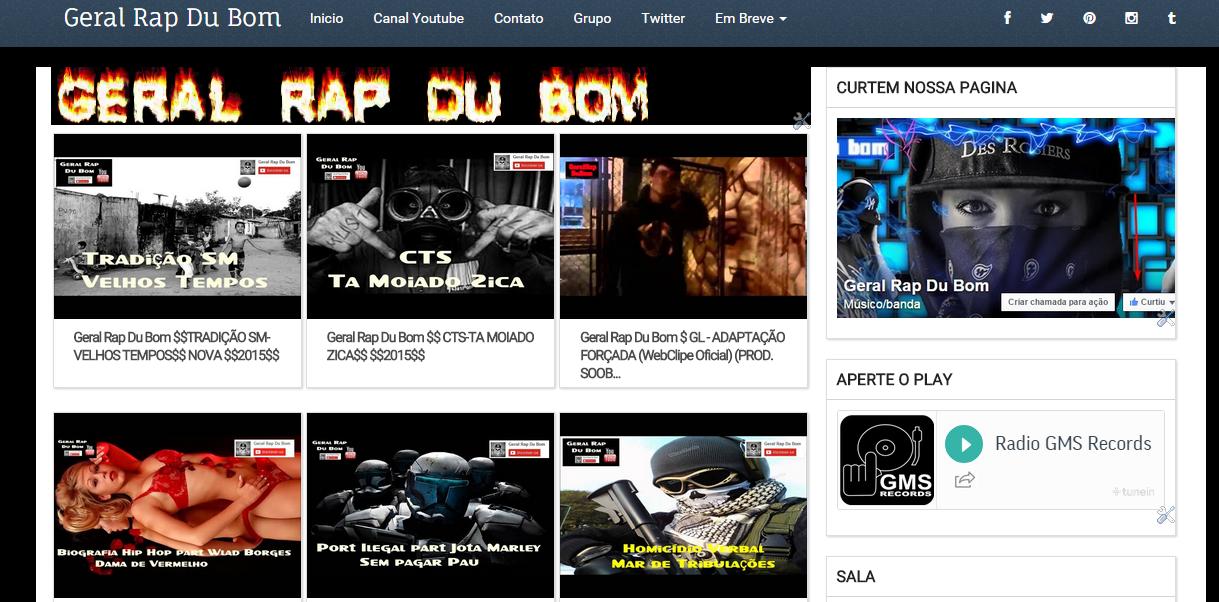 Click Aqui novo blog de rap
