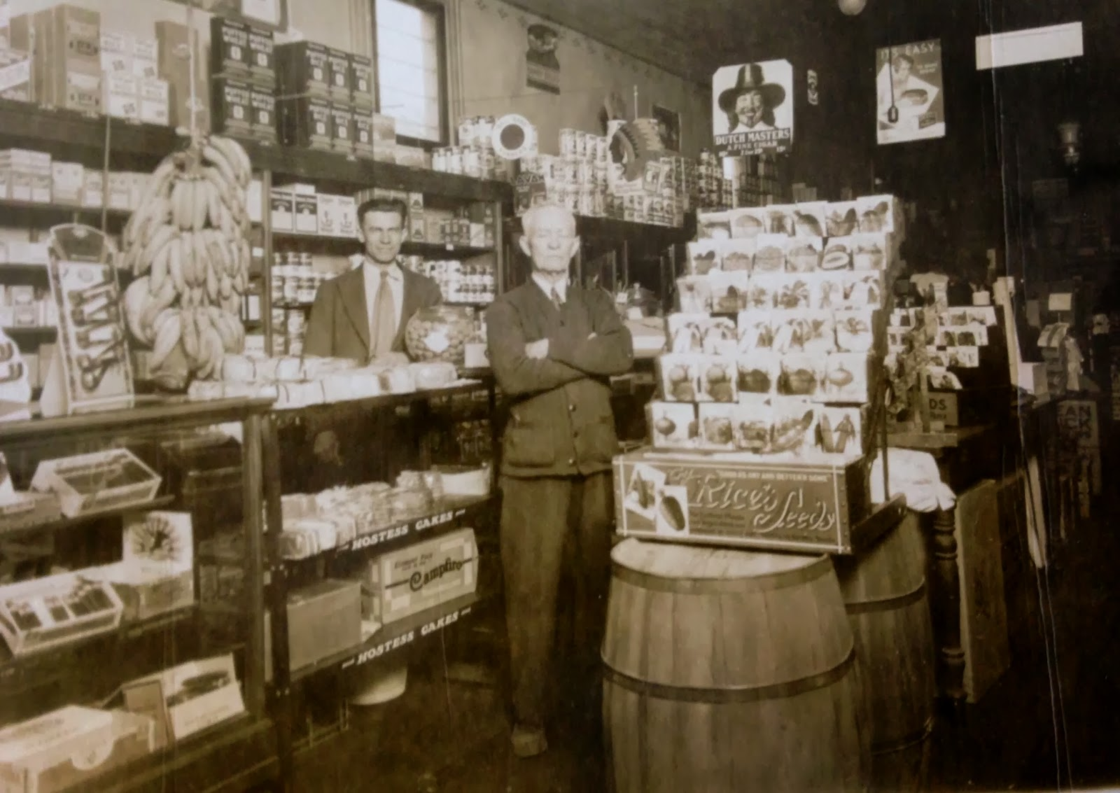 Third Street Cigar R W Rupp General Store And Dry Goods