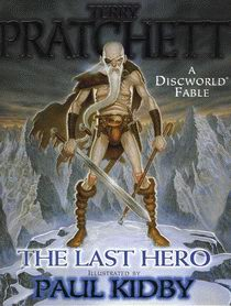 "Cover of ""The Last Hero"", a novel by Terry Pratchett"