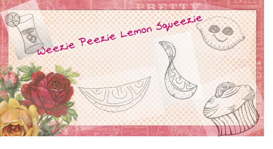 Weezie Peezie Lemon Squeezie