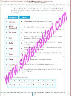 6.Sinif  Turkce Doku Yayinlari Ogrenci Calisma Kitabi Sayfa 73