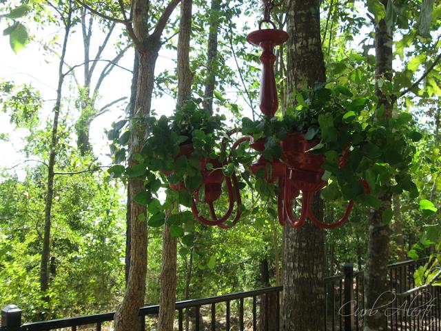Curb Alert!:  garden chandelier