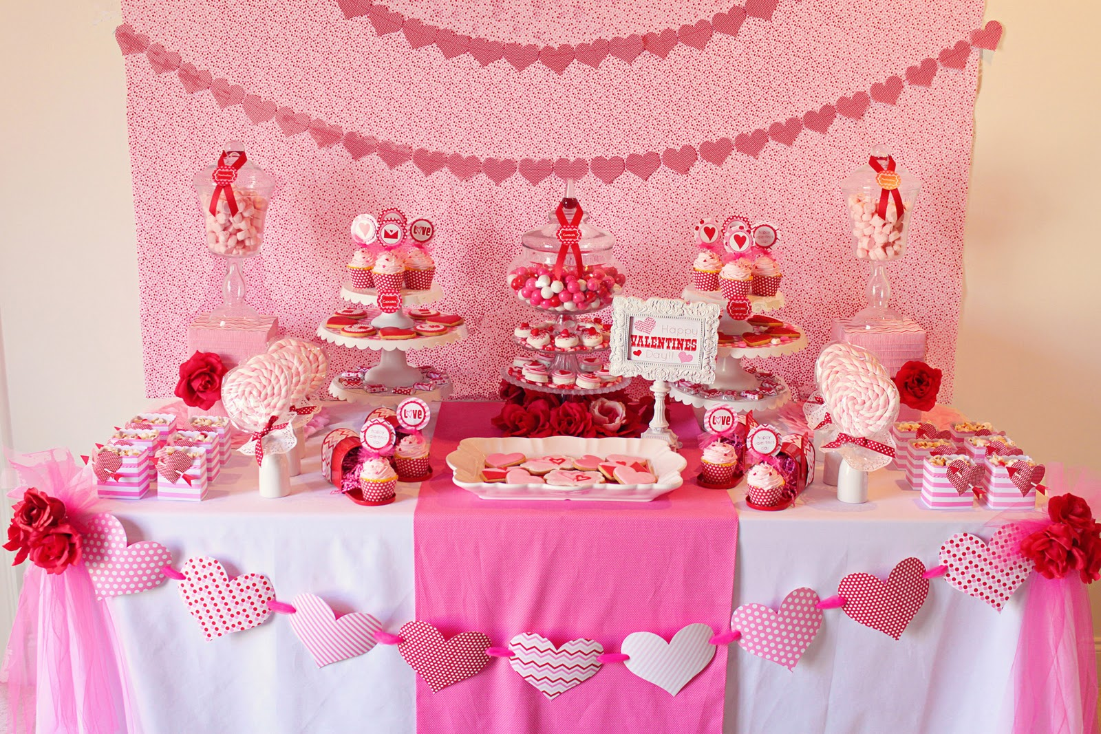 Valentines Party Table Ideas
