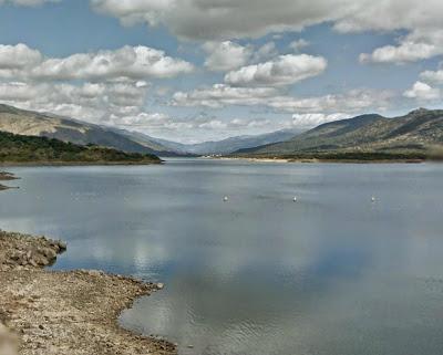 Vista desde la presa del Jerte