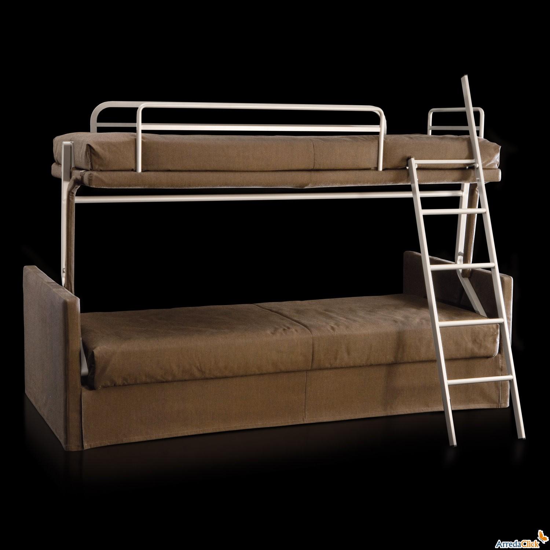Arredaclick muebles italianos online sof cama litera for Cama litera