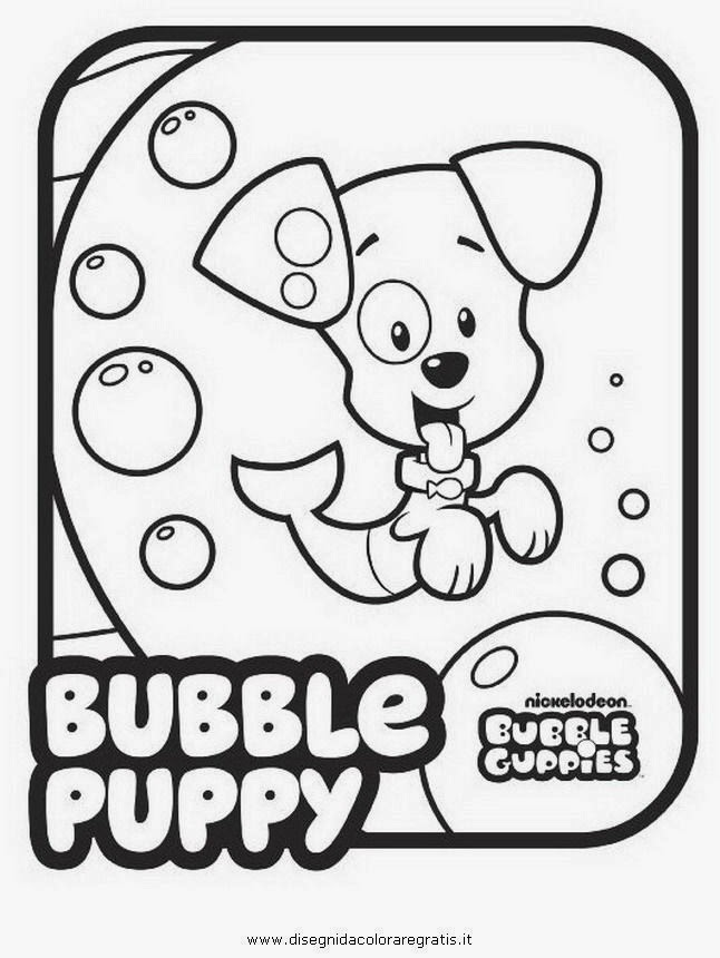 Dibujos para colorear maestra de infantil y primaria for Bubbles guppies da colorare
