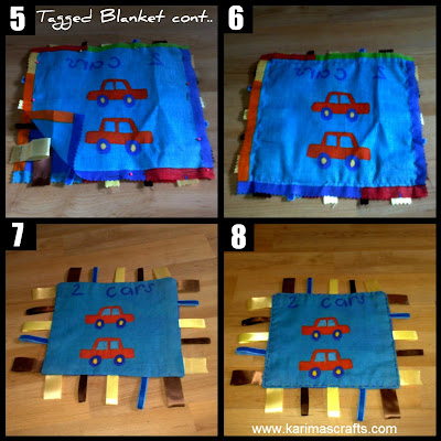 muslim blog tagged blanket tutorial