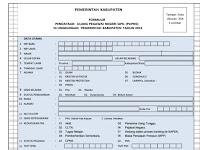 Download Formulir Pendataan Ulang Pegawai Negeri Sipil PUPNS 2015 - www.berkassekolah.com