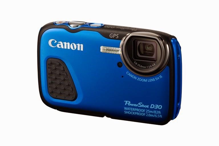 PowerShot D30 BLUE FSL