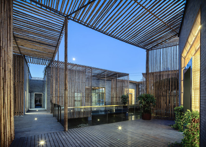 Estilo rustico casa de bambu rustica y moderna - Arquitectura rustica moderna ...