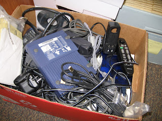 Box of zip drives