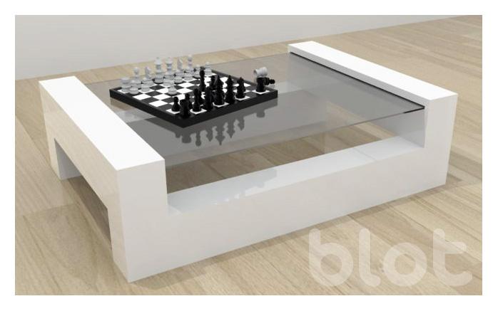 Mesa de melamine modelo nro 1 melamine for Modelos de mesas de vidrio