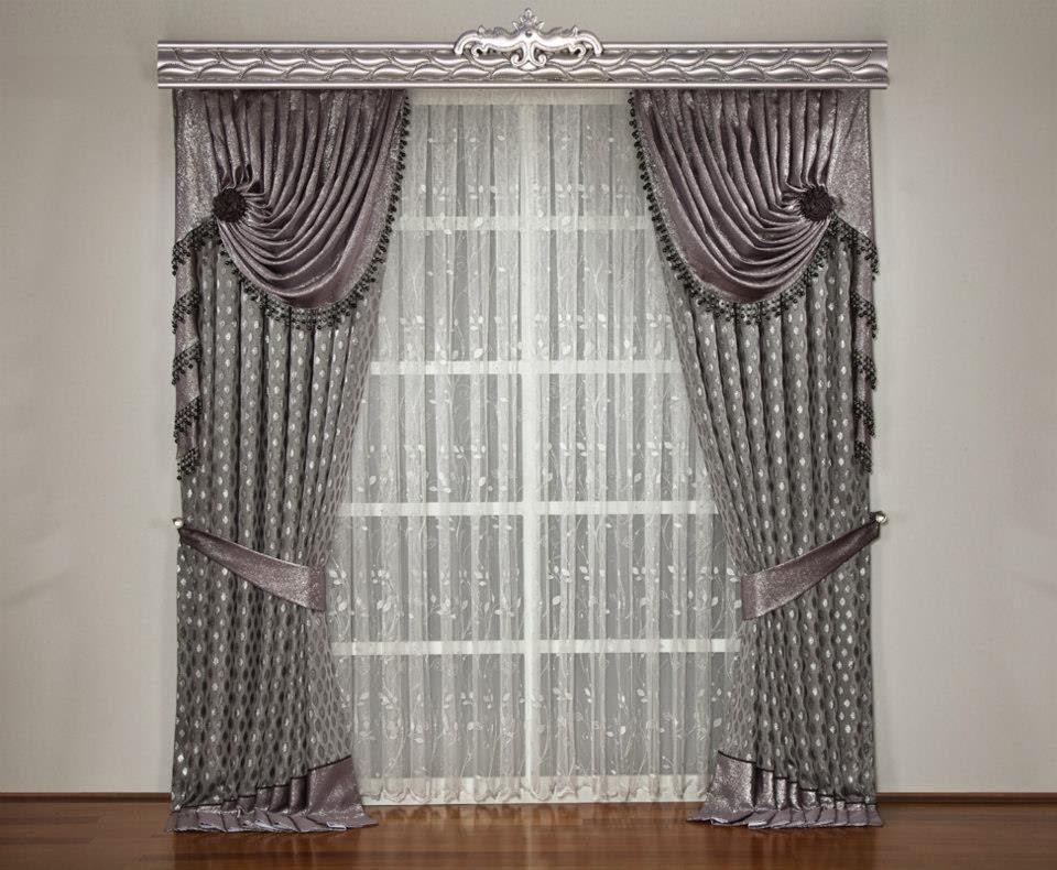 2014 fon perde modelleri elif perde. Black Bedroom Furniture Sets. Home Design Ideas