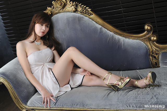1 Jung Se On - Strapless Mini Dress-very cute asian girl-girlcute4u.blogspot.com