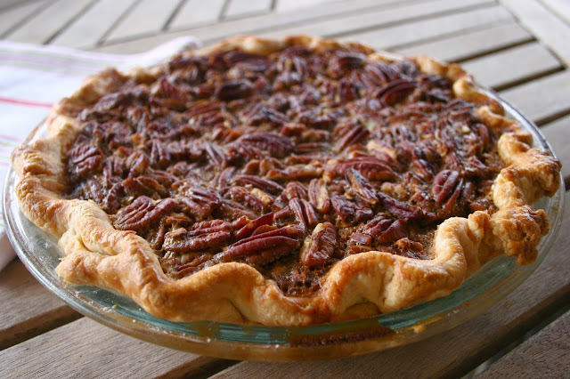 Pecan Pie with Brown Sugar