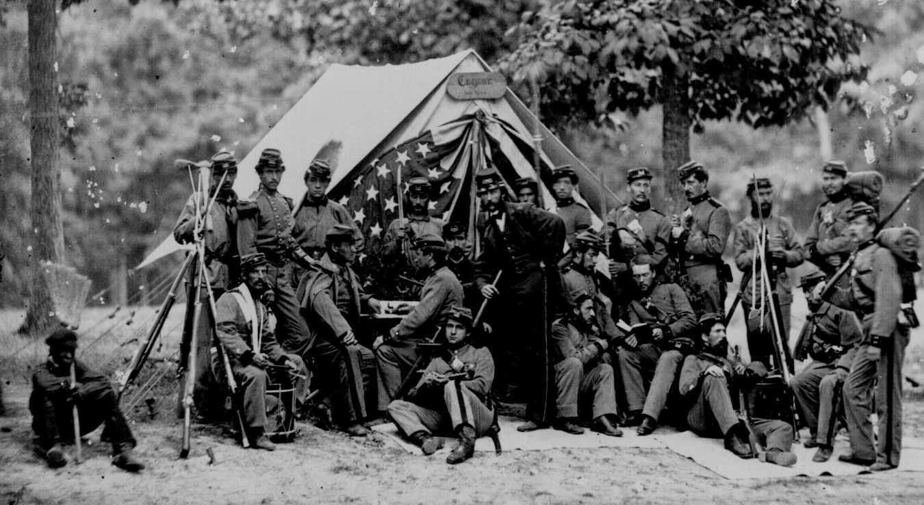 Momentos del Pasado: Fotografías de la Guerra de Secesión ...