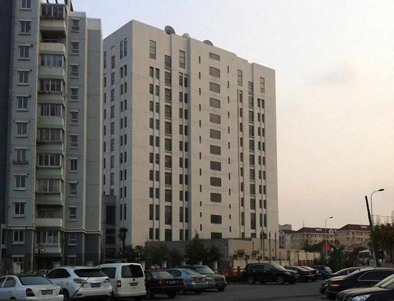 Sede da unidade 61398 para operações  de ataque cibernético no exterior, Shangai.