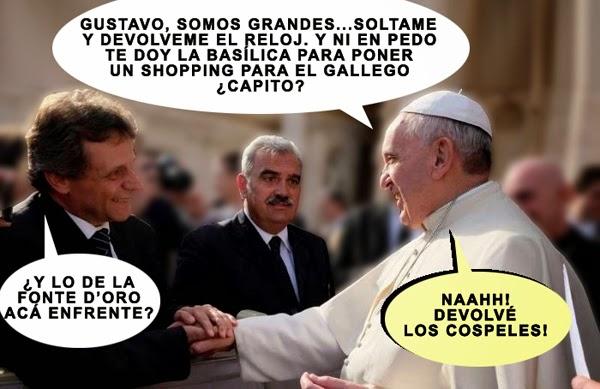 Pulti con el Papa El Corunio