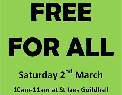 Free For All - St Ives Guildhall