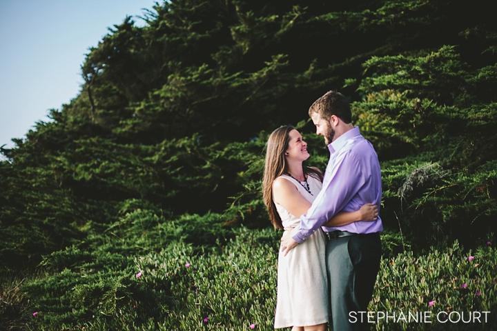 engagement photos at lands end