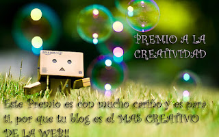 PREMIO A LA CREATIVIDAD