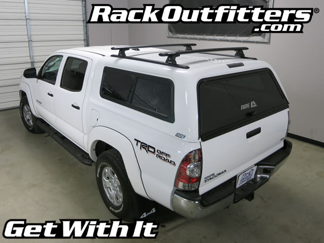 Rhino Rack Rlt600 Vortex 50 Inch Black Bar Roof Rack For