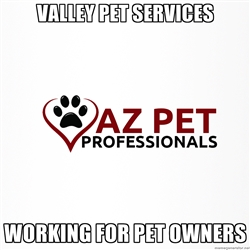 Professional Pet Services! Veterinary referred, Licensed, Insured!