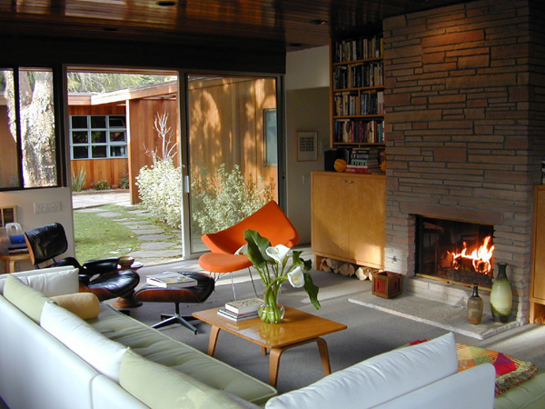 Apartment intervention mid century modern - Modern ranch home interior design ...