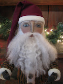 Santa Claus Stump Doll