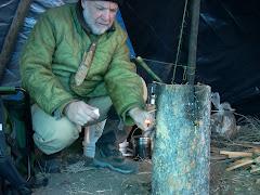Laplander stove in Montana
