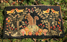 Adaptation of French Canadian Hooked Rug 2012