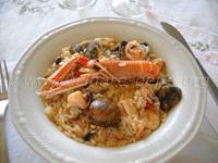 ricetta risotto alla pescatora