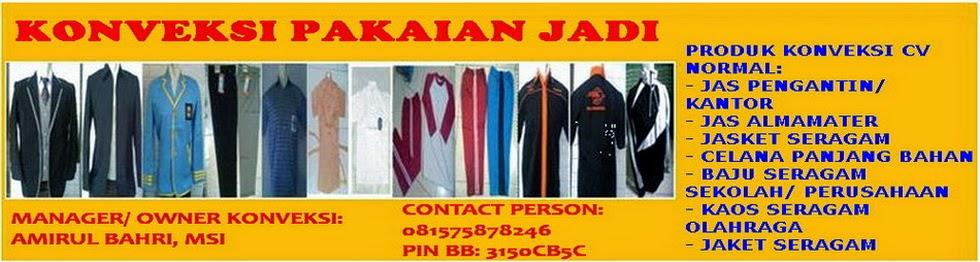 PUSAT BELANJA ONLINE PAKAIAN JADI INDONESIA
