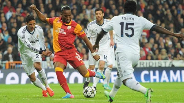 Real Madrid v Galatasaray