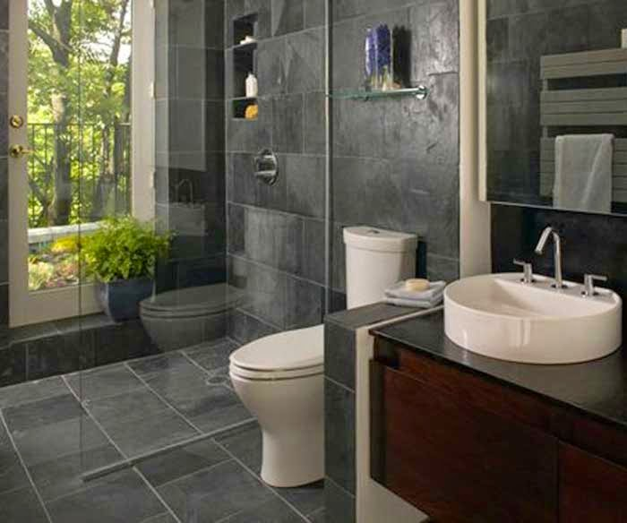 Black Elegant Bathroom Remodeling Atlanta picture