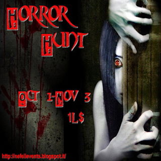 UP COMING HUNTS AT TOXIC CANDY ...THE HORROR HUNT