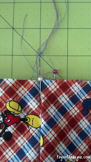 how to make a drawstring bag