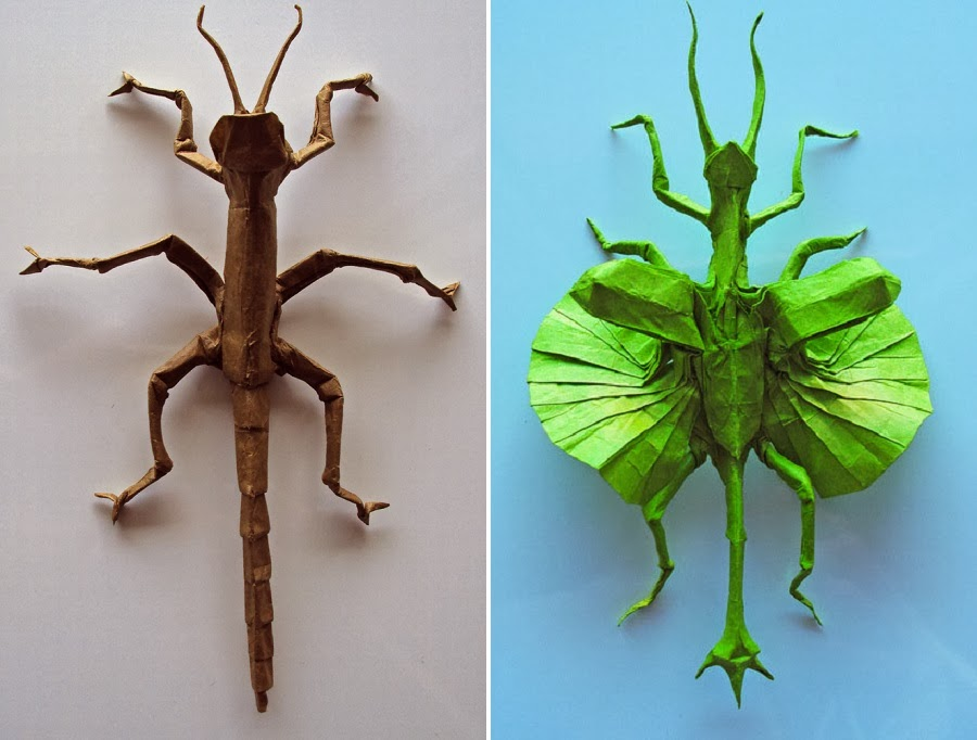 Simply Creative: Origami Animal Sculptures by Matthieu Georger