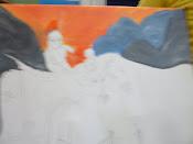 A tela do André.