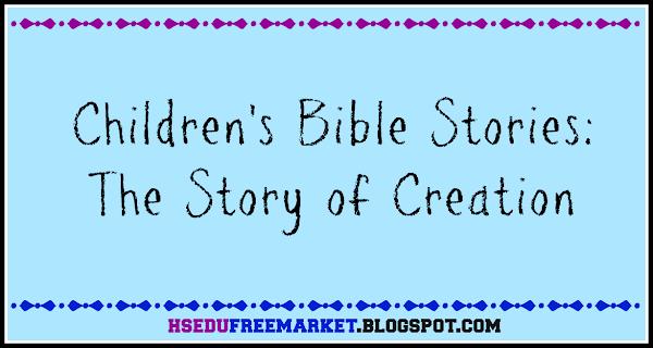 Children Bible Stories Creation