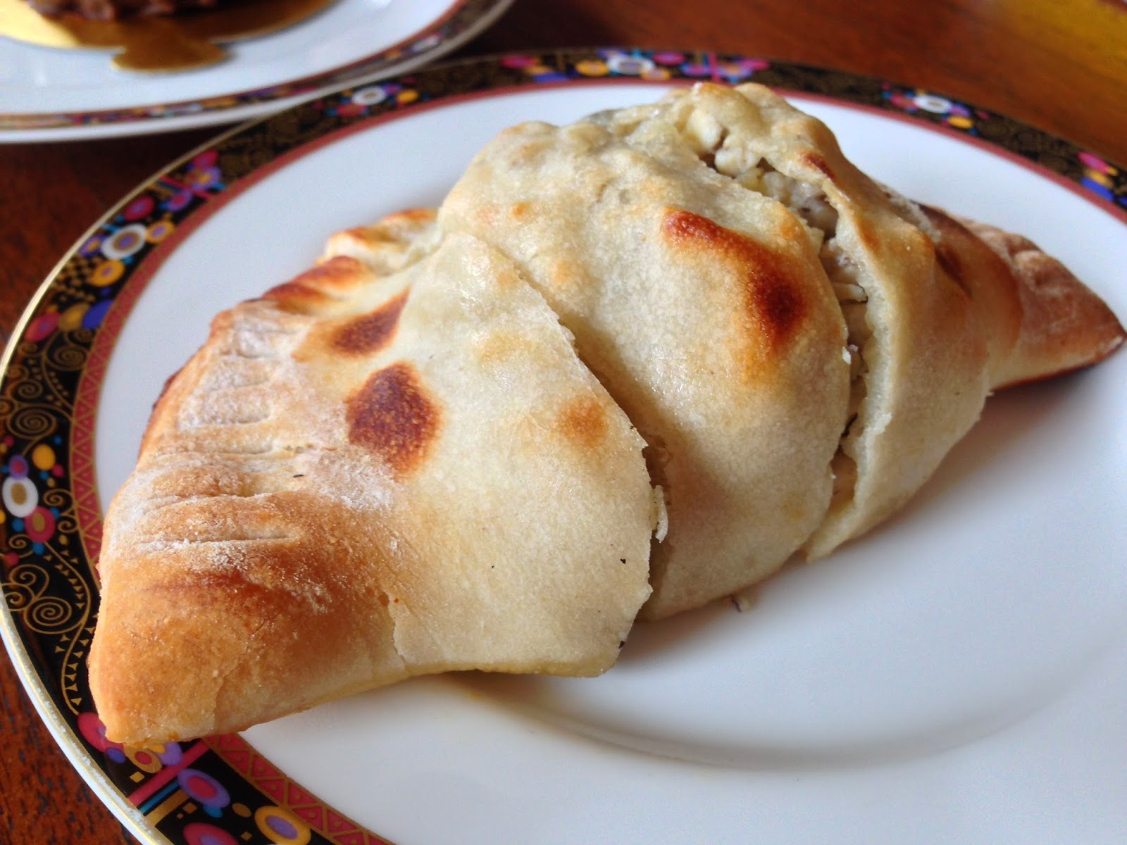 Calzone with Chicken and Mushroom