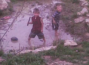 Our boys love the mud