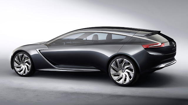 Opel/Vauxhall Monza Concept side
