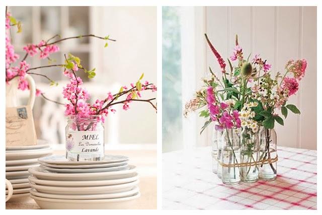 decoración de interiores arreglos florales