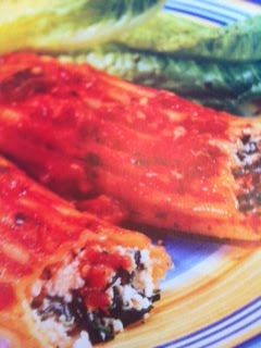 Easy crockpot recipes: Cannelloni with Tomato Eggplant ...