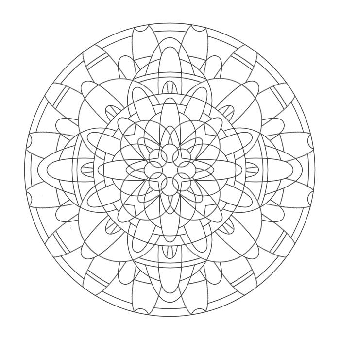 Coloring Mandalas 25 Svadisthana